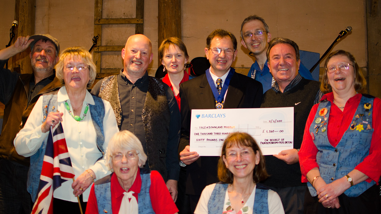 Music and Laughter Concert at Lains Barn